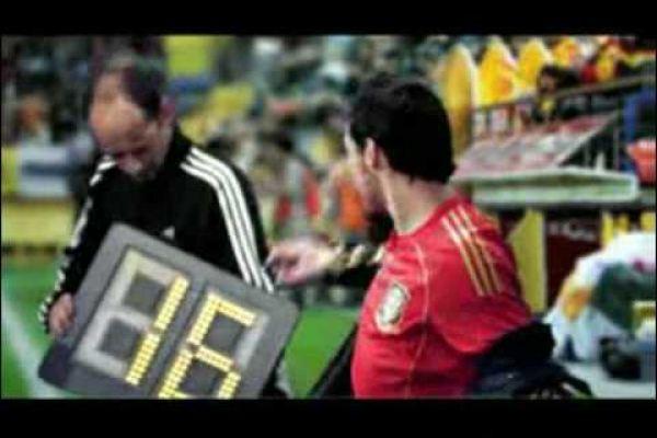 Ahorrar energía con la selección española de fútbol